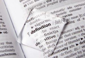 Definiciones y aclaraciones